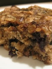 Bert's (and Ernie's, too, I'll bet) Best Blueberry Oatmeal Bars