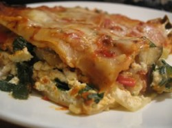Nap-Time Cooking: Roasted Vegetable Lasagna