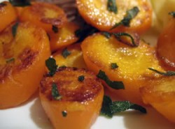 Pan-Roasted Carrots with Crispy Sage