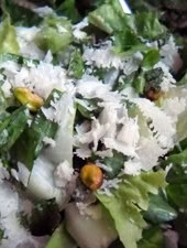 Escarole Salad with Pecorino, Lemon, and Mint