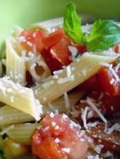 No-Cook Pasta Sauce #2: Raw Tomato Sauce