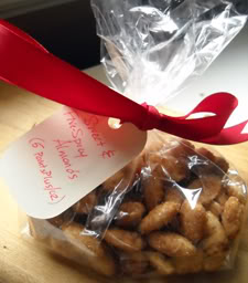 Quick & Easy Edible Gift: Sweet & Five-Spicy Almonds