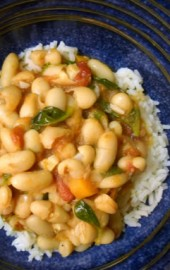 Procrastinate All You Want... (Fast White Beans & Greens Stew)