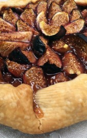 Fresh Fig Galette with Cinnamon Honey