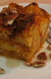 Sugar High Friday #3: Pumpkin Bread Pudding