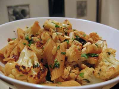 [Pasta with Roasted Cauliflower]