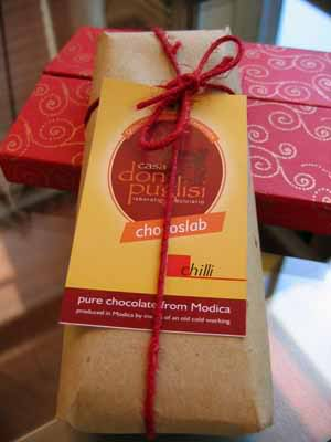 Today's Small Pleasure: Modicana Chili Chocolate