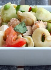 Guest Post Week: Winnie&#039;s Tortellini Salad with Fresh Mozzarella