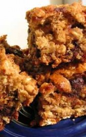 Cereality, for Real (Cherry-Chocolate Oatmeal Squares)