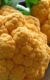 Orange Cauliflower?!