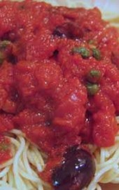 Taking the Night Off: Spaghetti alla Puttanesca