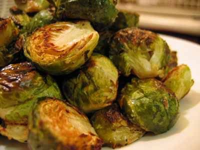 Dinner for One: The Barefoot Contessa's Roasted Brussels Sprouts
