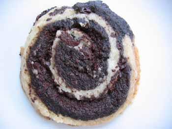 """Adventures in Recipe Testing, Part 2: In Which I Make Some """"Scrummy"""" Chocolate Swirl Shortbread That Turns Out Pretty Crummy"""