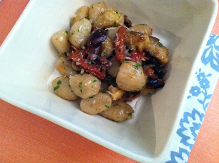 Gnocchi with Artichokes, Olives & Sun-Dried Tomatoes