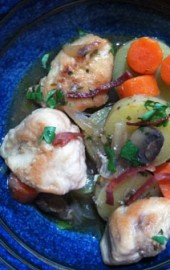 Quick &amp; Smoky Chicken Stew  