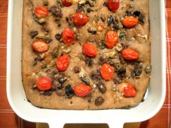 Great Cookbooks for Holiday Gifts (Recipe: Quick Olive Focaccia)