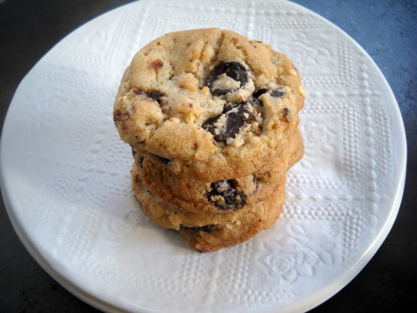 111211 junked up chocolate chip cookies angle