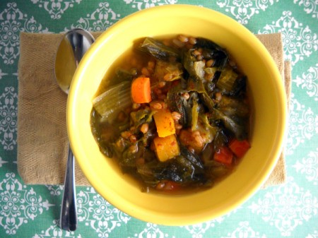 Slow Cooker Winter Vegetable Soup