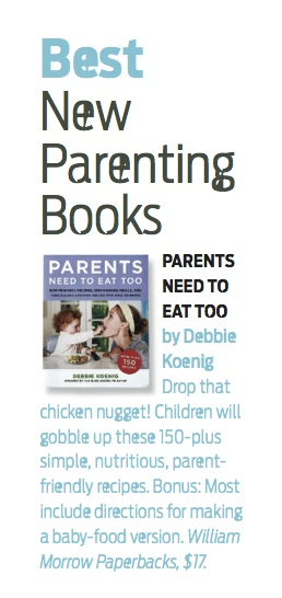 scholastic parent & child review of parents need to eat too