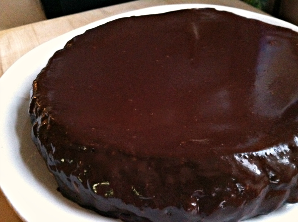 Passover Birthday Cake: Flourless Chocolate-Raspberry Torte