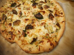 Use Your Leftovers: Herb Chicken Pizza