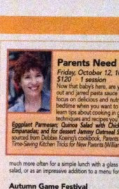 Coming to the Institute of Culinary Education: Parents Need to Eat Too