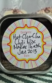 Better Late Than Never: Hot Cha-Cha Chili Seasoning Mix