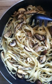 Easy and Elegant: Lemony Wild Mushroom Pasta