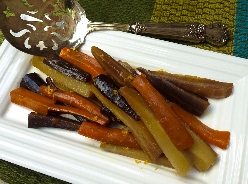 Honeyed Carrots in the Slow Cooker