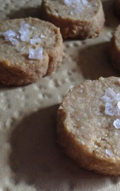 Salty Cashew Shortbread (Holiday Cookies)
