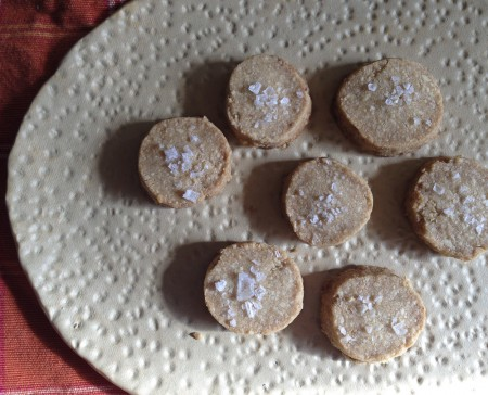 121117 salty cashew shortbread cookies