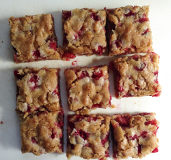 One-Bowl Cranberry Snack Cake, To Lift My Spirits