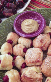 Kid-Friendly New Year's Eve: Homemade Pigs in Blankets & Mini-Knishes