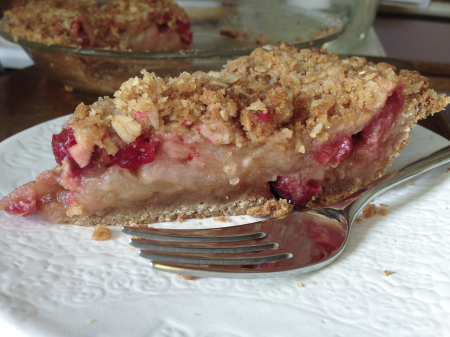 141127 cranberry apple crumb pie slice
