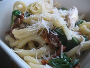Read more about the article Savino's Quality Pasta with Chicken, Artichokes, and Sun-Dried Tomatoes