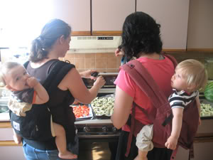 Parents Need To Eat, Too: Cooking Classes for New Parents, Starting Soon!