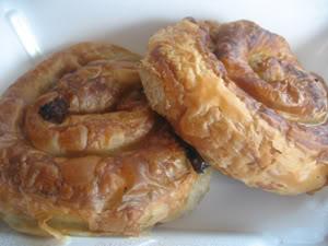Djerdan Bureks (Boreks, Borekas, Bourekas)