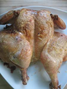 Butterflied Roast Chicken (AKA Foolproof Roast Chicken)