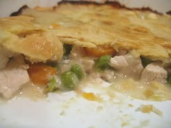 (Relatively) Low-Fat Chicken Pot Pie