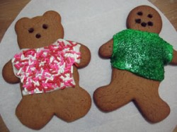 Zen and the Art of Baking with a Preschooler: Gingerbread Men