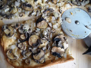 Jim Lahey's Mushroom Pizza
