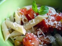 No-Cook Pasta Sauce #2: Raw Tomato Sauce