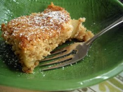 Read more about the article A Cake for the Non-Baker: Pear Snickerdoodle Cake
