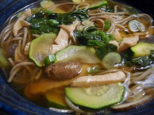 Soup Week 2010: Quick Asian Noodle Soup