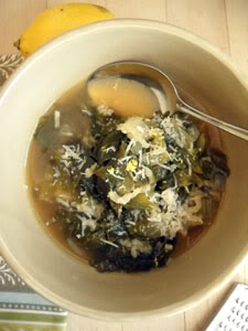 Soup Week 2010: A Duo with Greens and Grains