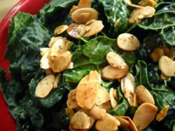 Kale Salad with Browned Butter-Sherry Vinaigrette