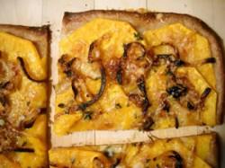 Butternut Pizza & Zucchini Pizza