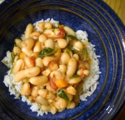 Procrastinate All You Want… (Fast White Beans & Greens Stew)