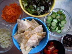 Picky Eater Special: Make-Your-Own Taco Salad