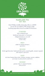Local Roots CSA Is Hosting a Supper Club
